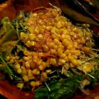 シャキシャキ有機野菜のシーザーサラダ