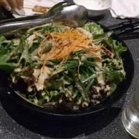 笹かまぼこの焙煎胡麻サラダ