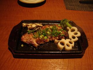 黒豚のステーキ