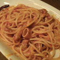 お肉屋さんのスパゲッティ