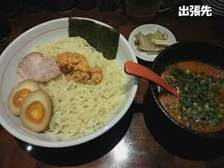 辛肉味噌つけ麺
