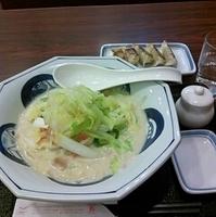 白菜ちゃんぽん餃子