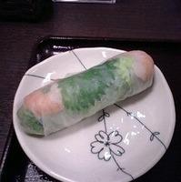 小海老と野菜の生春巻き