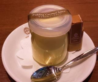 生キャラメルソースプリン
