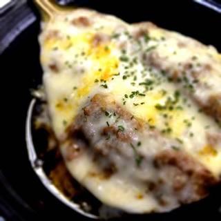 米茄子ミートチーズ焼