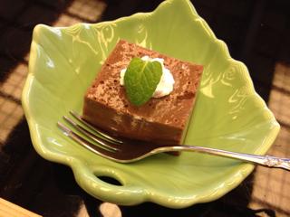 チョコレートのババロア