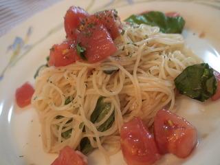 トマトの冷製パスタ/イル チェントロ