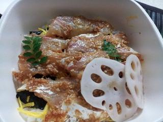 鯛の胡麻味噌寿司