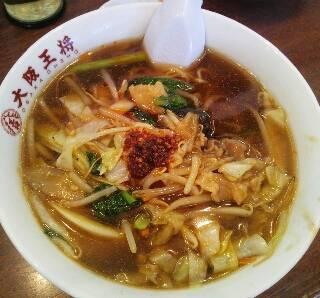 ピリ辛野菜タンメン