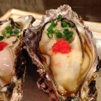 殻付生牡蠣