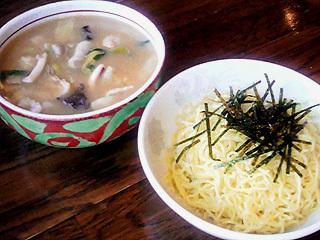 チャンポンつけ麺