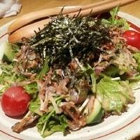 鱧の皮のサラダ