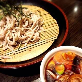 越乃鶏 蒸篭蕎麦