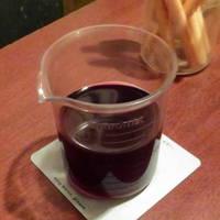 ビーカーワイン赤
