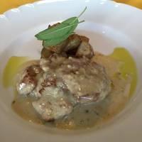 松坂豚フィレ肉のソテー ゴルゴンゾーラソース