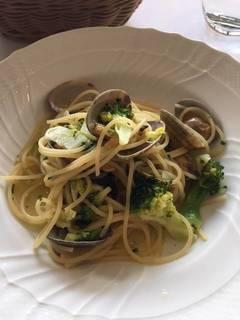 アサリとブロッコリーのスパゲッティーニ