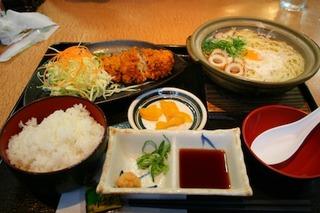 土鍋ラーメン定食