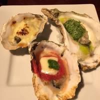 焼き牡蠣3種