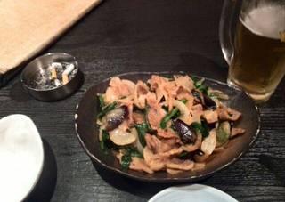 ピリ辛なすぶた味噌炒め