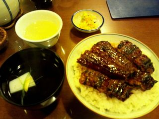 中詰丼(鰻)