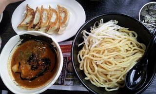 白虎つけ麺黒