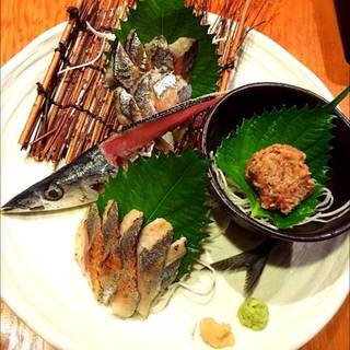 秋刀魚の4点盛り