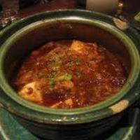 牛スジ味噌煮込み豆腐グラタン