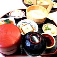 門前 ゆばと野菜の天ぷら付き