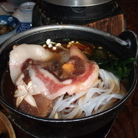 山里のぼたん鍋