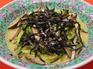 焼き豚冷麺