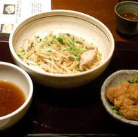 炙り鶏とたっぷり野菜の和風つけ麺