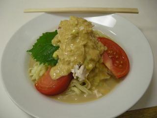 バンバンジー冷し麺