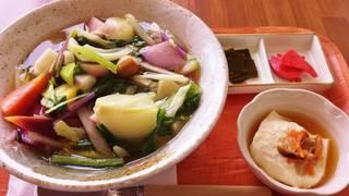 温野菜とろみうどん
