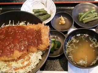 サルナシソースカツ丼