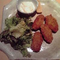広島県産牡蠣フライ