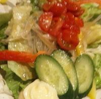 普通のサラダ