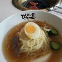 焼き肉と冷麺ランチ