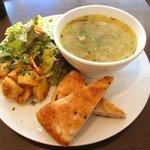 有機野菜のスープランチ