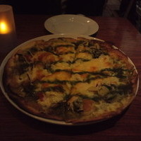 有機野菜のジェノヴァピザ