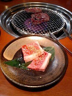 飛騨牛の焼肉ロース