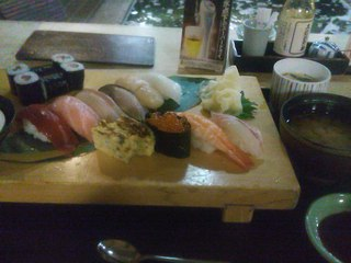 寿司ランチ 限定にぎり