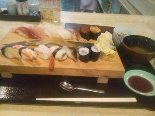 寿司ランチ おまかせにぎり