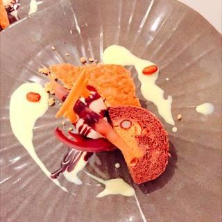 うるしのインゲン豆のロールケーキ