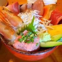 魚がし海鮮丼