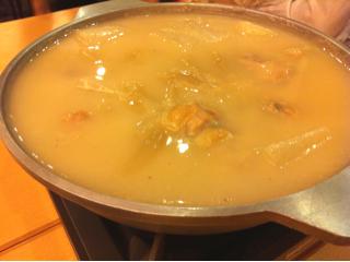 軍鶏スープ炊き
