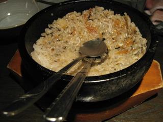 シラスと紀州梅石焼ご飯