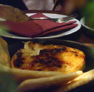 カマンベールのはちみつオーブン焼き