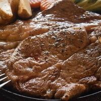 ステーキ定食ジャンボ