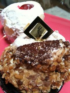 マルジョレーヌとレアチーズケーキ