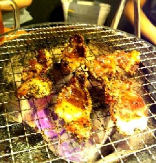 牛テール黒胡椒焼き